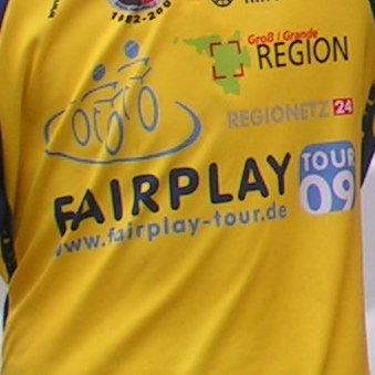 Trikot der Fairplay Tour 2009